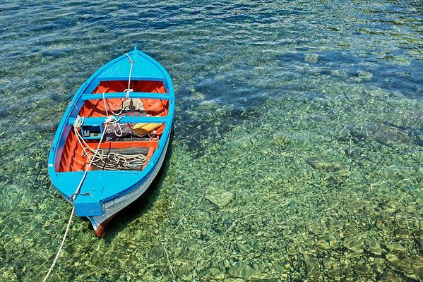 Punta Licosa - cote mer