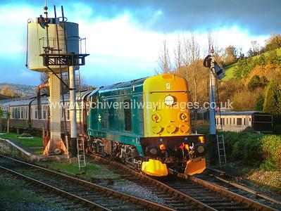Class 20 Diesel Locomotives