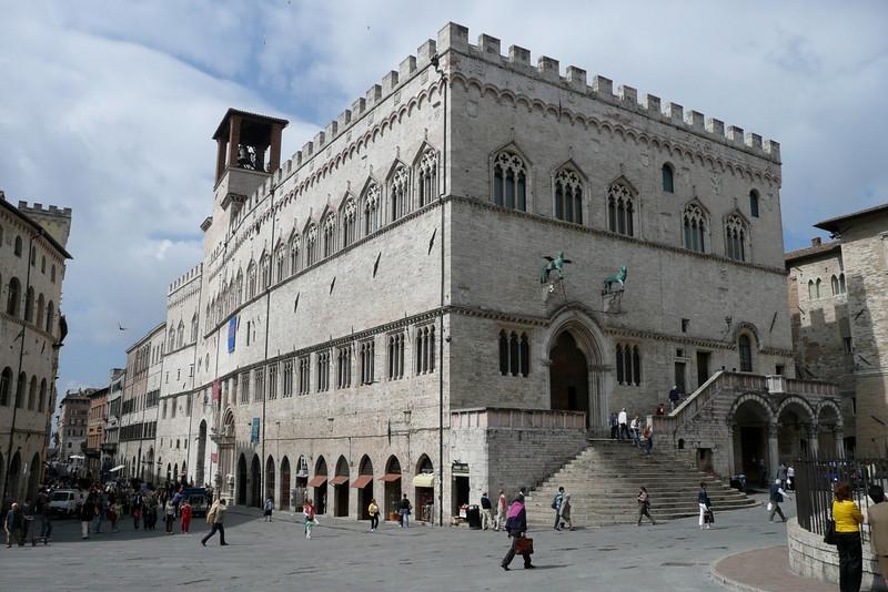 Palazzo dei Priori. Perugia, Umbria