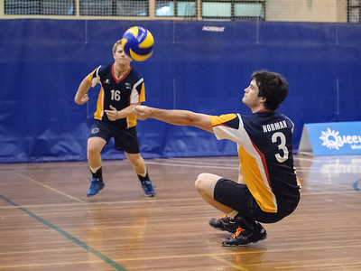 2011 Australian University Games volleyball days 1 to 3