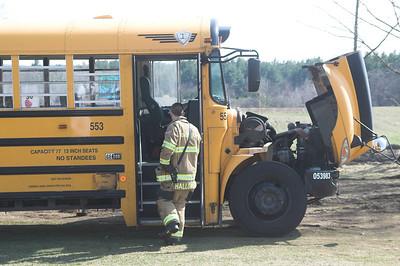 School Bus Fire March 19, 2012
