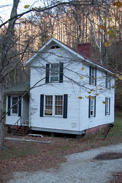 Creepy house near the campground!