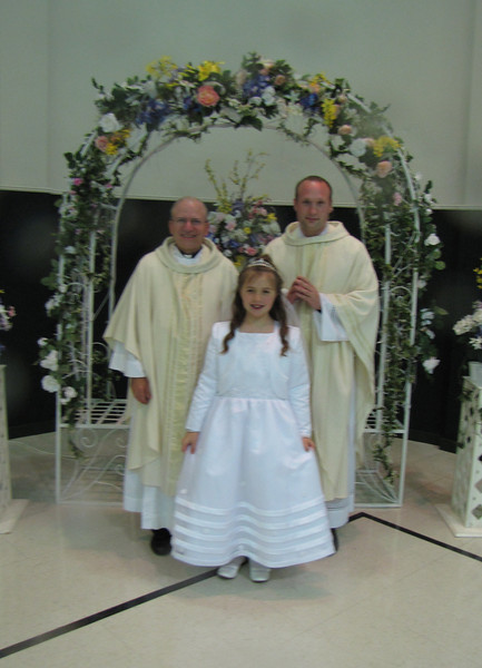 Faith's 1st Communion