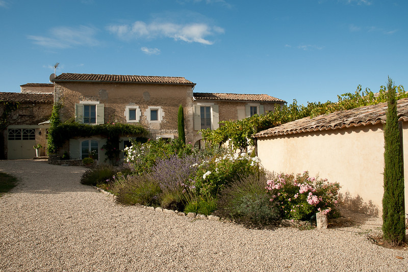 Le Mas Cache - our B & B near Goult in Provence