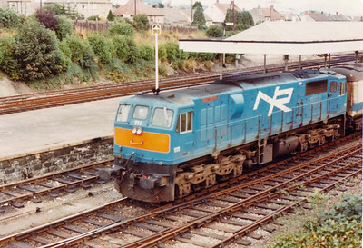 NIR Class 111 Loco (Built GM La Grange Illinois USA Engine GM 12-645E38  24550 hp)
