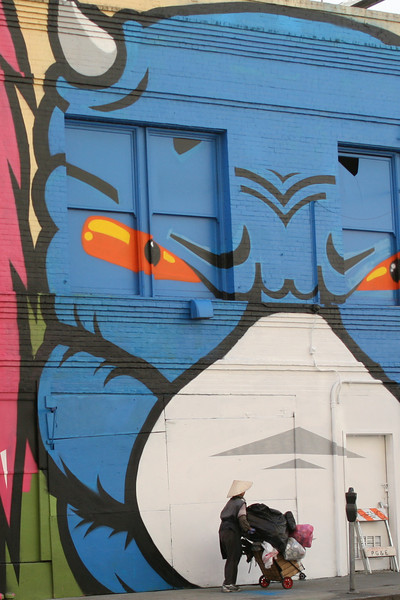 Fear Head, Golden Gate & Taylor, by 1:AM SF, October 2009