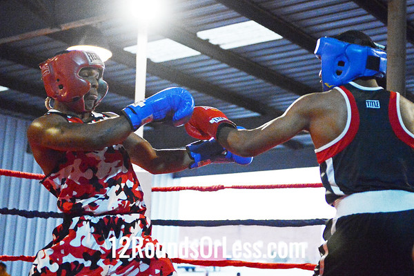 Bout #8  Thomas Mattice ( U.S.A.) vs Deloren Grey (Glenville Boxing Club)  141 Lb. Open Bout