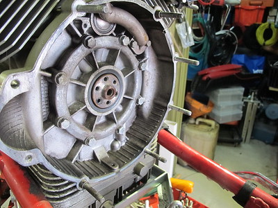 Mille GT clutch inspection and repair