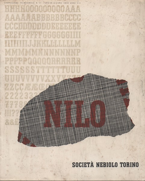 Nilo, Nebiolo, 1937. Tempo, designed by W. Hohnisch in 1930 for Ludwig & Mayer, was replicated by Nebiolo with the name Nilo.
