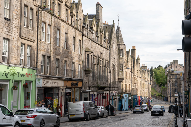Edinburgh Old Town street