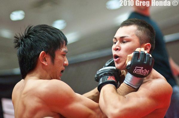 Kai Iwasaki vs Robert Agguirre