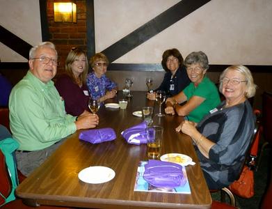 Volunteer Dinner 2013