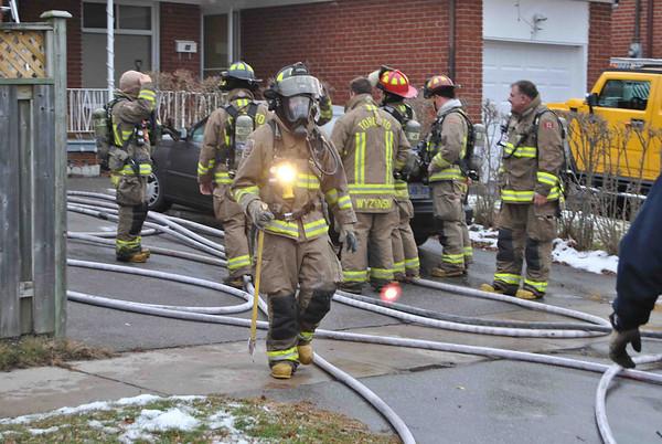 December 11, 2010 - Working Fire - 73 Bakerton Dr.
