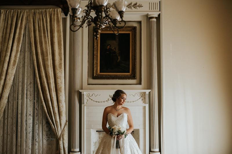 Vintage Bridal Portraits at Galveston's Ashton Villa