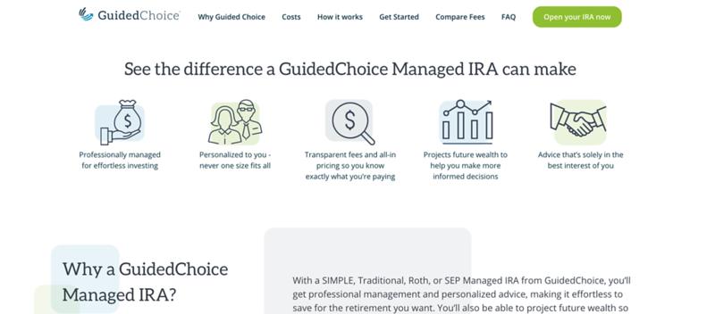 GuidedChoice Advantages