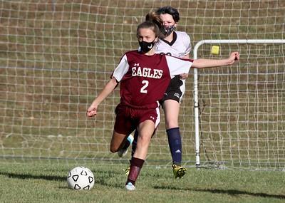 AMHS M.S. Girls Soccer vs TV photos by Gary Baker