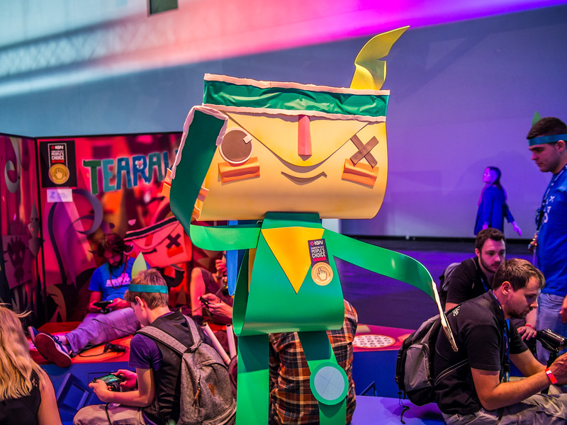 Tearaway at Gamescom 2013