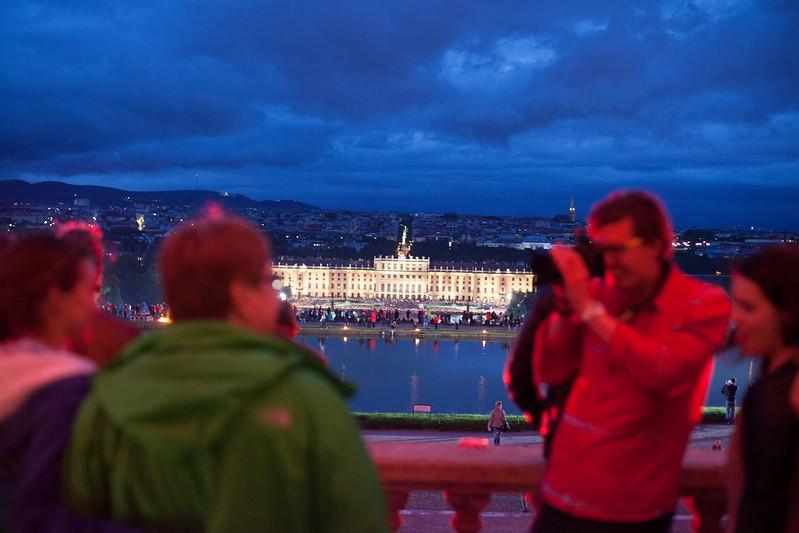 Photosession in the Gloriette, Schonbrunn Castle (Vienna)