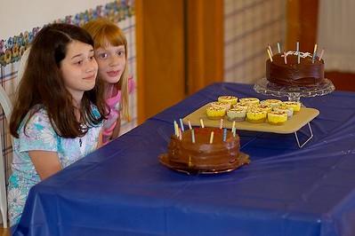 Kayley & Payton's Birthay 2005