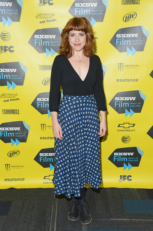 """. Actress Ashley Rae Spillers attends the \""""Two Step\"""" premiere during 2014 SXSW Music, Film + Interactive Festival at the Topfer Theatre at ZACH on March 9, 2014 in Austin, Texas.  (Photo by Michael Loccisano/Getty Images for SXSW)"""