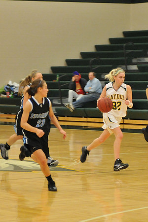 Girls Varsity Basketball - South Tama 2008-2009