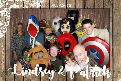 Lindsey & Patrick's Wedding 9/29/18