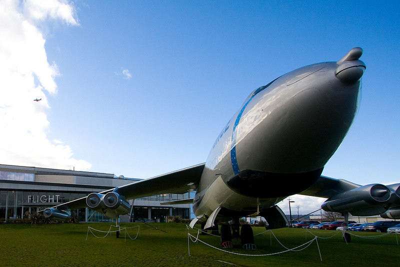 Towards the end of the week, we went to the Museum of Flight