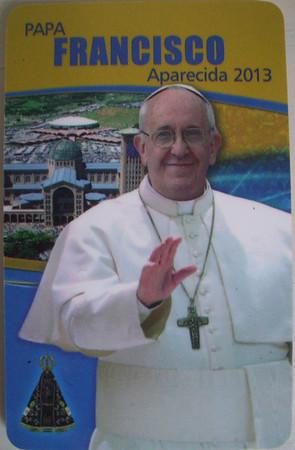 Papa no Brasil: 24/7/13