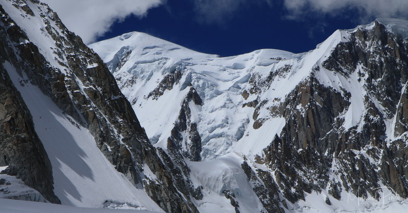 Mont Blanc, Valle blanche