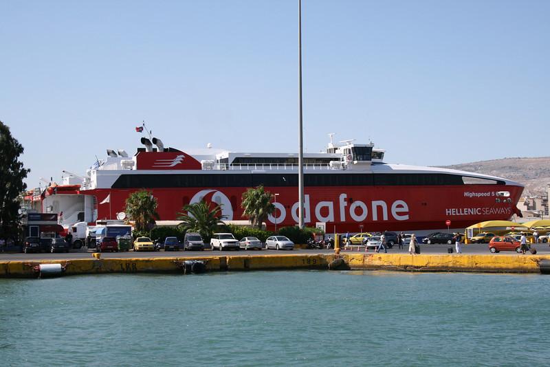 HSC HIGHSPEED 5 in Piraeus.