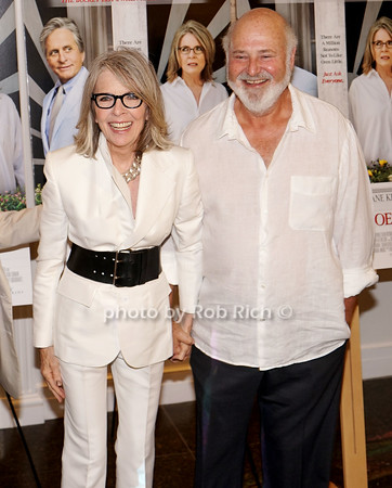 Diane Keaton and Rob Reiner