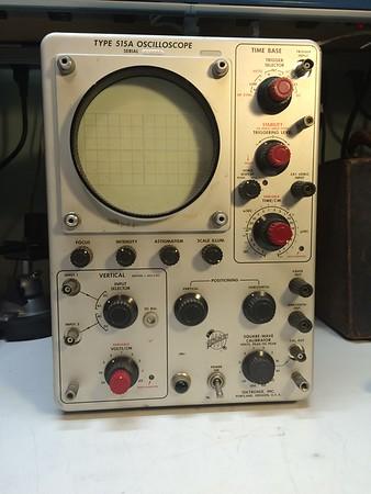 Tektronix 515A 15MHz Oscilloscope
