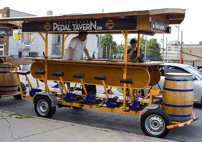 Pedal Tavern Milwaukee 2016