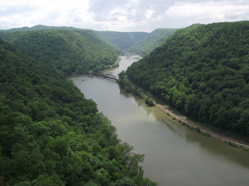 Hawk's Nest State Park, New River Gorge National River, West Virginia