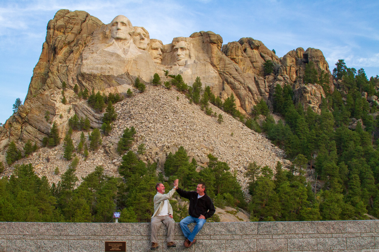 Scott and Me at Mount Rushmore! I Have Visited All 50 States