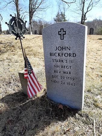 John Bickford Grave
