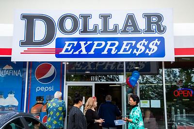 Dollar Express Ribbon Cutting