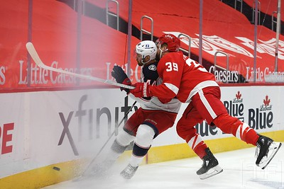 NHL: Columbus Blue Jackets At Detroit Red Wings2