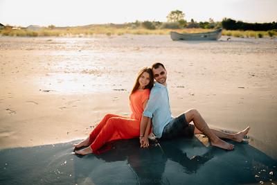 Robert si Mihaela - sedinta foto plaja Corbu