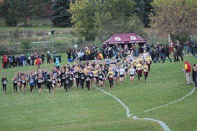 Girls Varsity Start - 2013 MHSAA D1 Region 7 Waterford