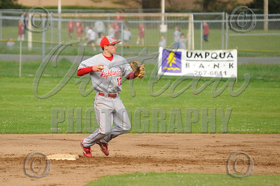 Marshfield vs N. Eugene - Varsity Baseball - Apr 21, 2010