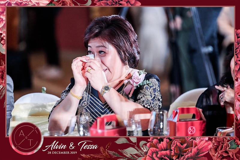 Wedding of Alvin & Tessa | © www.SRSLYPhotobooth.sg