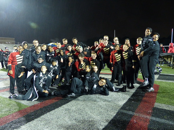 Football game vs. Troy High / DRUM OFF! 10.12.18