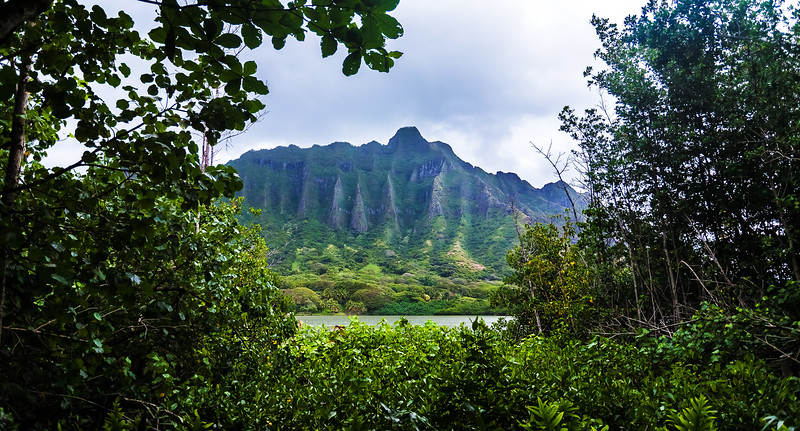 Molii Fish Pond / Kualoa