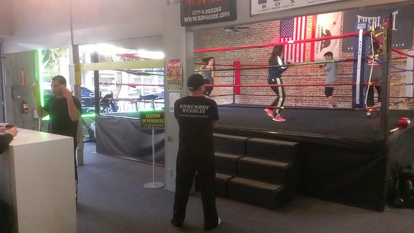 BOXING GYMS