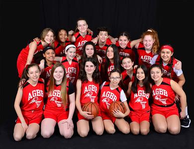Basketball Girls Team Photos - 7th/8th Graders