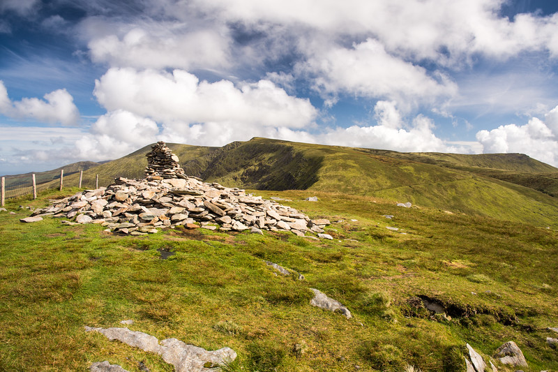 Cairn above Conor Pass