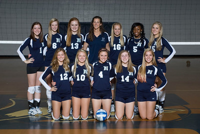 Norcross Volleyball JV and Fresh Team
