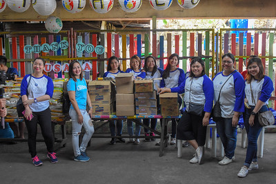 2019 Philippines Project Pearls Tondo Food Delivery