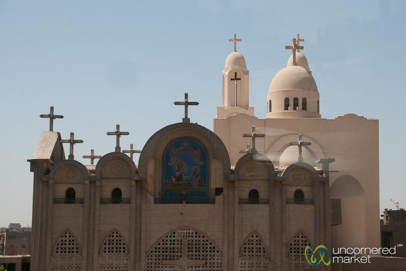 Orthodox church in Cairo, Egypt.